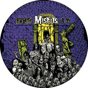Misfits- Earth AD pin (pinX333)