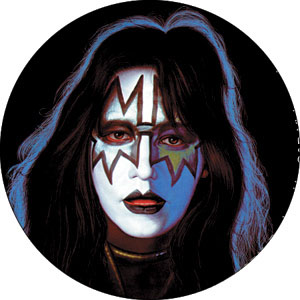 Kiss- Ace pin (pinX148)
