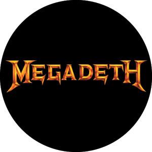 Megadeth- Gold Logo pin (pinX342)