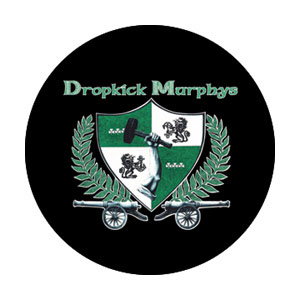 Dropkick Murphys- Cannon Crest pin (pinX343)
