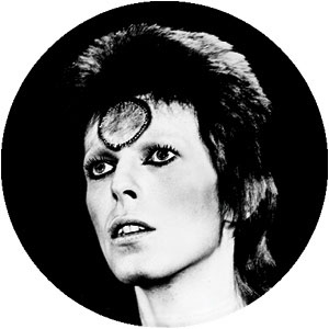 David Bowie- Black And White pin (pinX121)