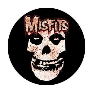 Misfits- Bloody Skull pin (pinX345)