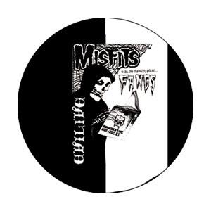 Misfits- Evilive Fangs pin (pinX346)