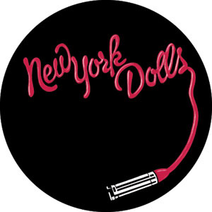 New York Dolls- Lipstick pin (pinX383)