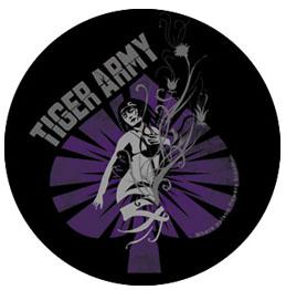 Tiger Army- Spade pin (pinX101)