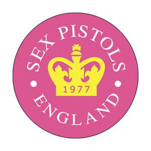 Sex Pistols- England (Crown) pin (pinX295)