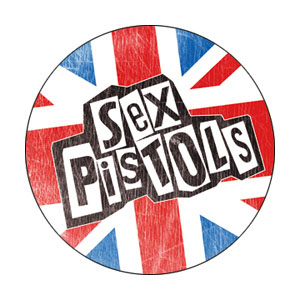 Sex Pistols- Union Jack pin (pinX296)