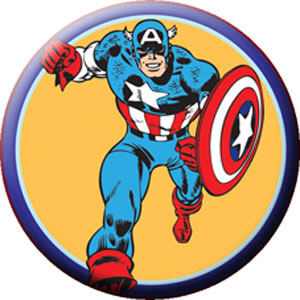 Marvel Comics- Captain America pin (pinX355)
