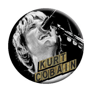 Kurt Cobain- Singing pin (pinX363)
