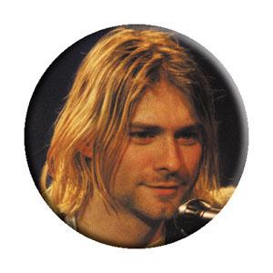 Kurt Cobain- Smiling pin (pinX365)