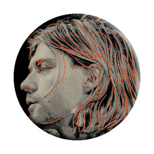 Kurt Cobain- Close Up pin (pinX366)