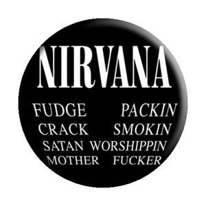 Nirvana- Curse pin (pinX368)