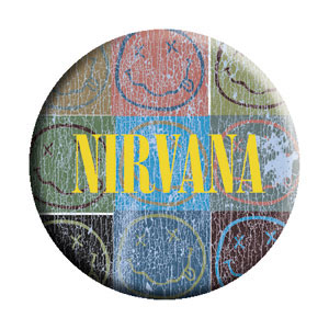 Nirvana- Patchwork pin (pinX369)