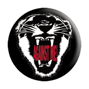 Against Me!- Tiger pin (pinX134)