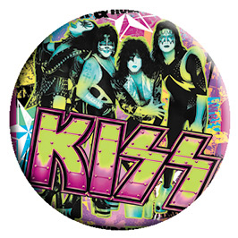Kiss- Party pin (pinX449)