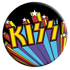Kiss- Burst pin (pinX452)