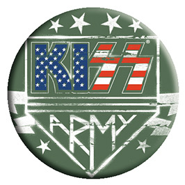 Kiss- Army pin (pinX453)