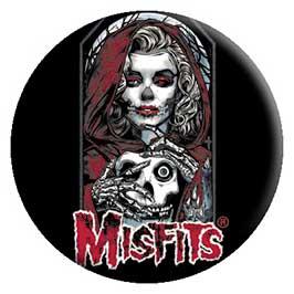 Misfits- Unmasked pin (pinX389)