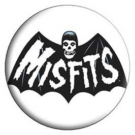 Misfits- Bat Fiend pin (pinX390)