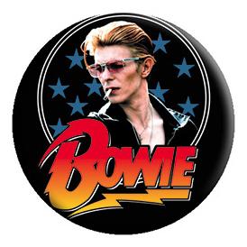 David Bowie- Stars pin (pinX431)
