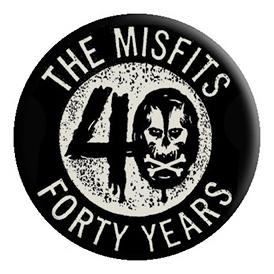 Misfits- 40 Years pin (pinX434)