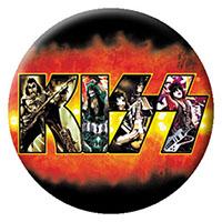 Kiss- Fire Logo pin (pinX168)