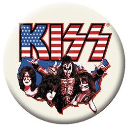 Kiss- America pin (pinX515)