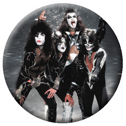 Kiss- Band In Snow pin (pinX516)