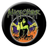 Alice Cooper- Flames pin (pinX291)
