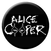 Alice Cooper- Logo With Eyes pin (pinX298)