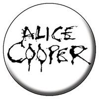 Alice Cooper- Logo pin (pinX299)