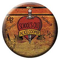 Alice Cooper- School's Out (Desk) pin (pinX307)