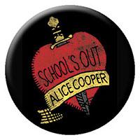 Alice Cooper- School's Out (Black) pin (pinX30)