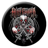 Alice Cooper- Skulls pin (pinX31)