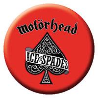 Motorhead- Ace Of Spades (Red) pin (pinX275)