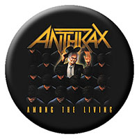 Anthrax- Among The Living pin (pinX26)