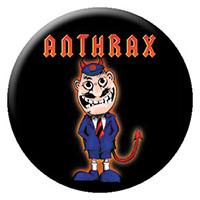 Anthrax- Devil Man pin (pinX271)