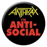 Anthrax- I'm Anti-Social pin (pinX262)