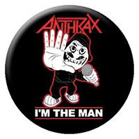 Anthrax- I'm The Man pin (pinX263)