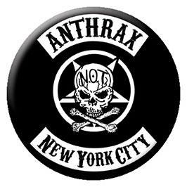 Anthrax- NYC pin (pinX251)