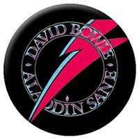 David Bowie- Aladdin Bolt pin (pinX10)