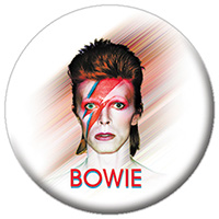 David Bowie- Aladdin Smeared Background pin (pinX109)