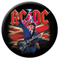 AC/DC- Angus Union Jack pin (pinX117)