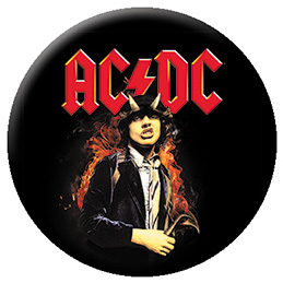 AC/DC- Highway To Hell Angus Flames pin (pinX123)