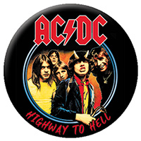 AC/DC- Highway To Hell pin (pinX133)