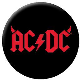 AC/DC- Horns Logo pin (pinX134)