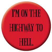 AC/DC- I'm On The Highway To Hell pin (pinX140)