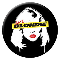 Blondie- Face pin (pinX136)
