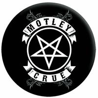 Motley Crue- Banner Logo pin (pinX237)