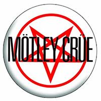 Motley Crue- Pentagram pin (pinX239)